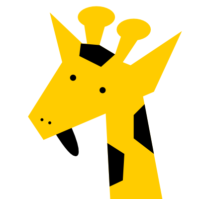 This is a giraffe. On the internet I'm a giraffe.